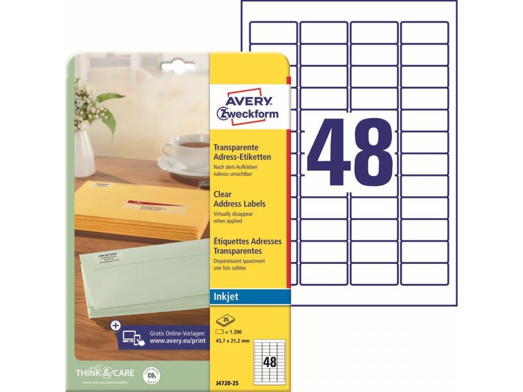 Avery Zweckform J4720-25