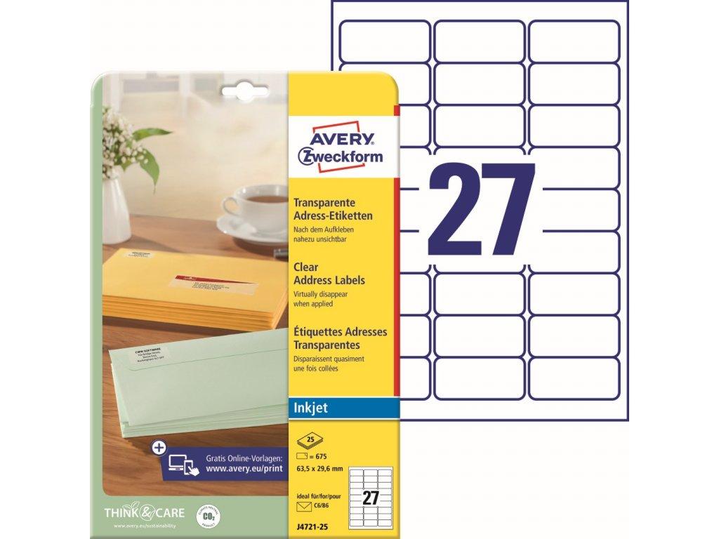 Avery Zweckform J4721-25