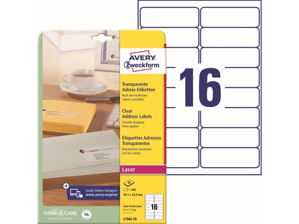 Avery Zweckform L7562-25