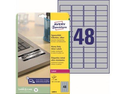 Velmi odolné etikety Avery Zweckform L6009-8