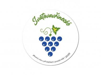 Etikety na víno - HLUK