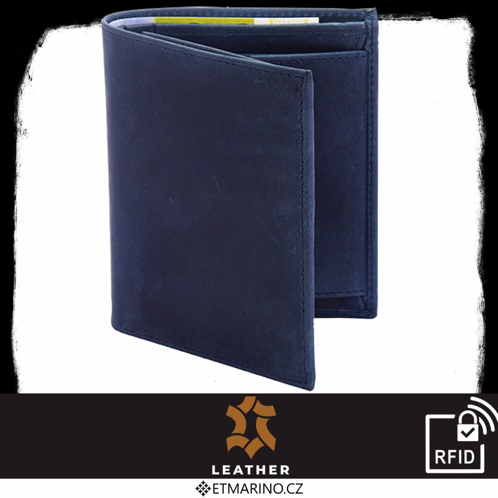 Leather 1208 blue