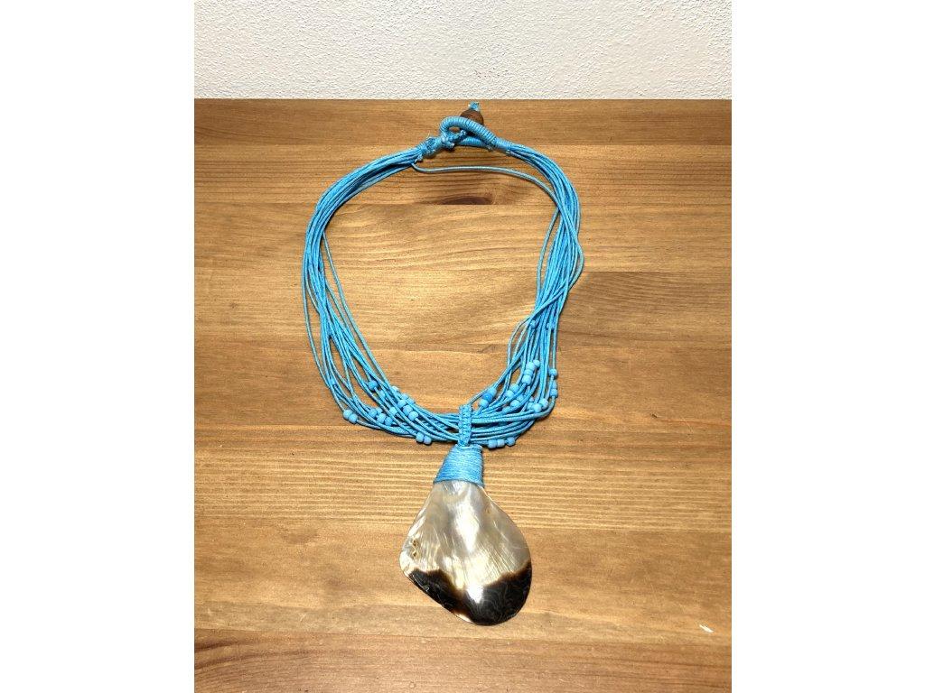 náhrdelník : mušlí : mušle