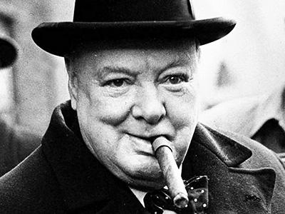 Mýty a pověry o Winstnu Churchillovi a doutnících