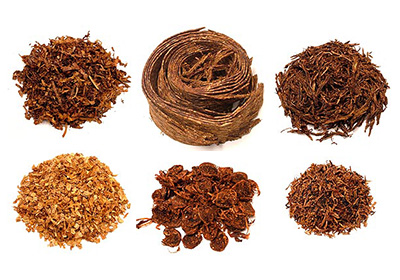 Dýmkový tabák – různé typy řezů