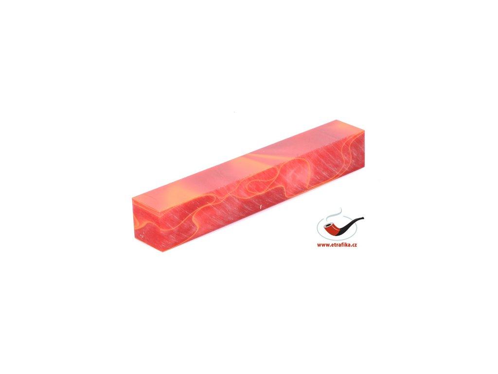 Akrylová tyč malá TW Crimson 10