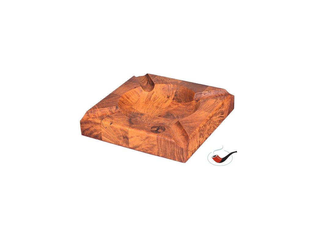 Popelník doutníkový Briar Celtic Tobacco Segmenty 01