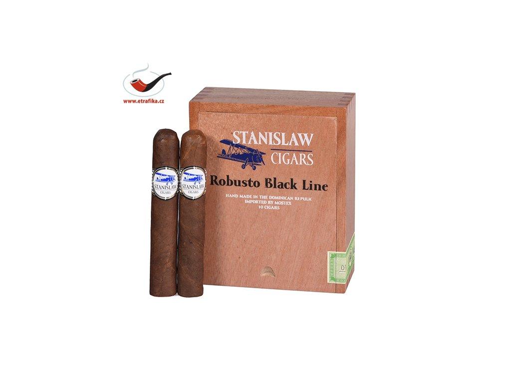 Doutníky Stanislaw Black Line Robusto/10