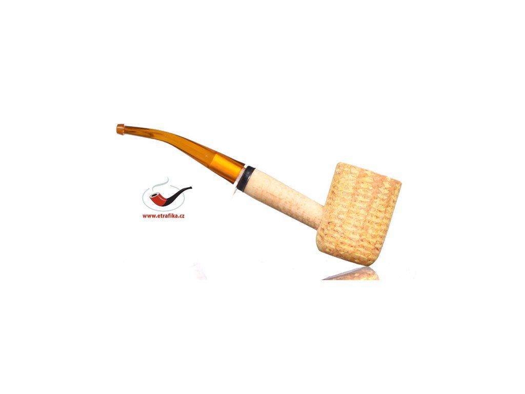 Dýmka Missouri Corn Cob Pipes bent - pot