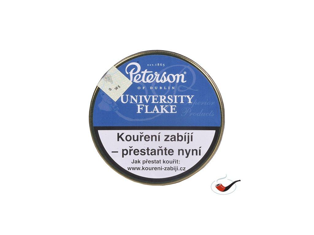 Dýmkový tabák Peterson University Flake/50
