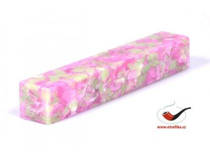 Akrylová tyč malá TW Pink and Cream 101