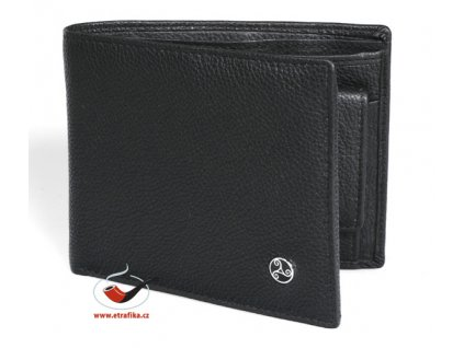 Kožená peněženka Rattrays černá