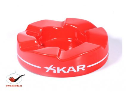 Doutníkový popelník Xikar Ashtray Wave Red 429WRD