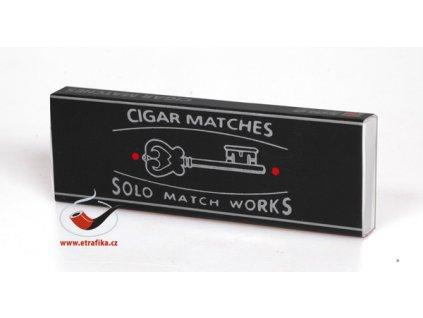 Doutníkové zápalky Solo Cigar Matches