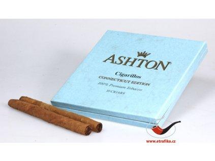 Doutníky Ashton Small BLUE Cigarillo/10