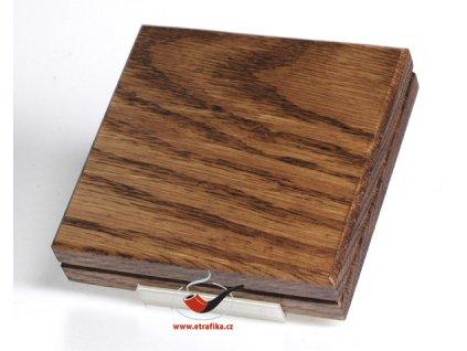 Dřevěná tabatěrka na 20 cigaret