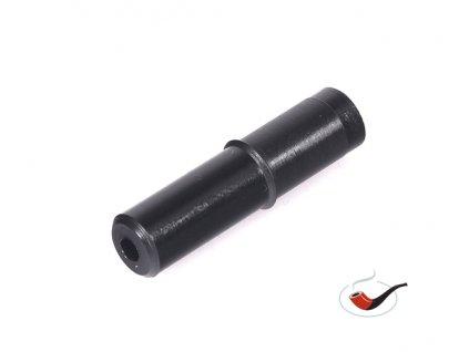 Teflonový čep bezfiltrový černý 8 mm