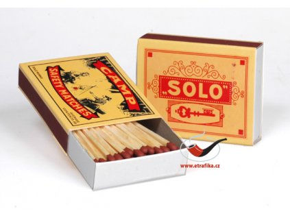Dýmkové zápalky Solo Retro