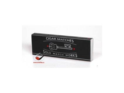 2 x Doutníkové zápalky Solo Cigar Matches