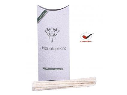 Čističe dýmky White Elephant WE100PC Cotton/100