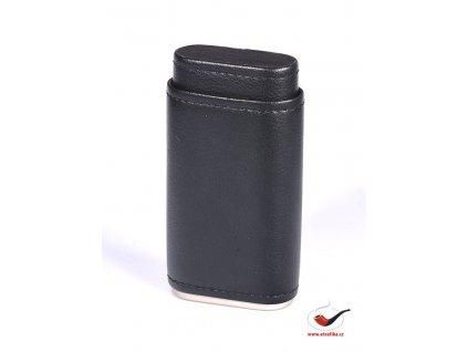 Kožené pouzdro na 3 doutníky Xikar Envoy Carbon Fiber 249CF