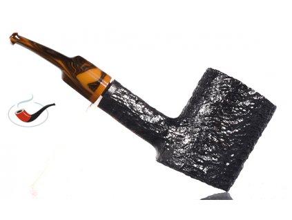 Dýmka Savinelli Tigre Rusticated Black 311