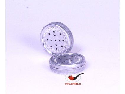 Zvlhčovač tabáku kovový kulatý