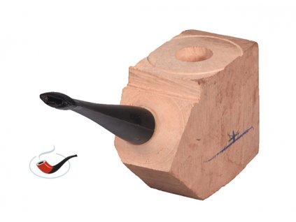 Přířez na výrobu dýmky s náustkem bent ebonit 14