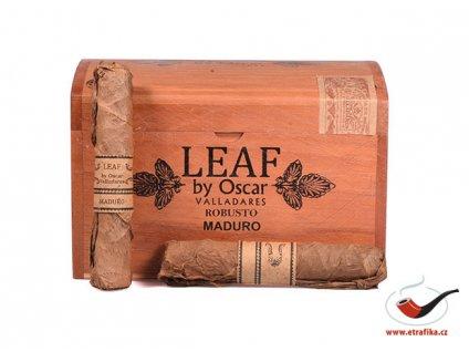 Doutníky Leaf by Oscar Robusto Maduro/20