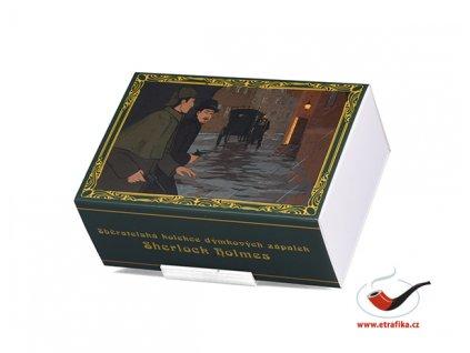 Dýmkové zápalky Solo Sherlock Holmes Limitovaná edice Set 02