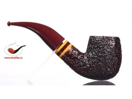 Dýmka Savinelli Regimental Rustic Dark Brown 616