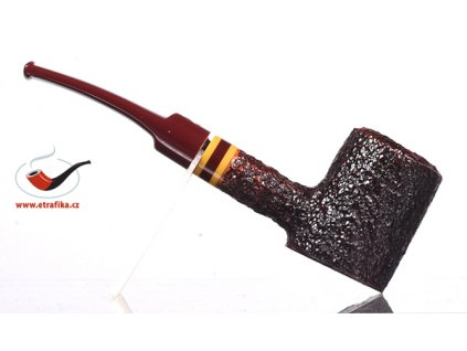 Dýmka Savinelli Regimental Rustic Dark Brown 310