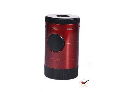 Doutníkový stolní zapalovač XIKAR Volta Tabletop Lighter Red 569RD