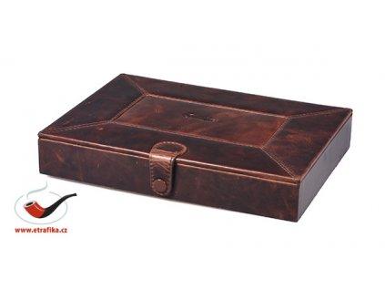 Cestovní doutníkový kožený humidor Passatore