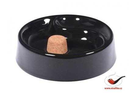Dýmkový popelník H.R. keramický na 1 dýmku
