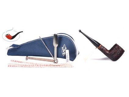 Dýmka Savinelli One Rustic Dark Brown set 106