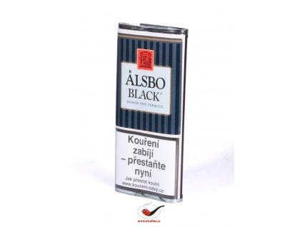 Dýmkový tabák Alsbo Black/40