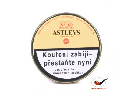 Dýmkový tabák Astleys No.109 Medium Flake/50