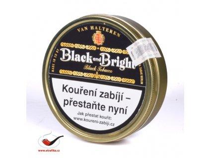 Dýmkový tabák Black and Bright/100