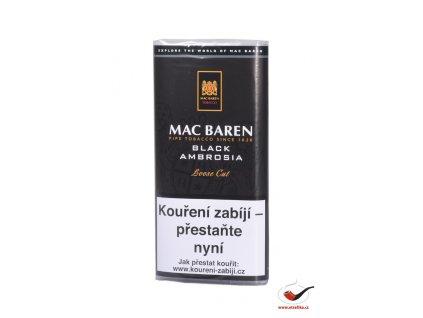 Dýmkový tabák Mac Baren Black Ambrosia/50