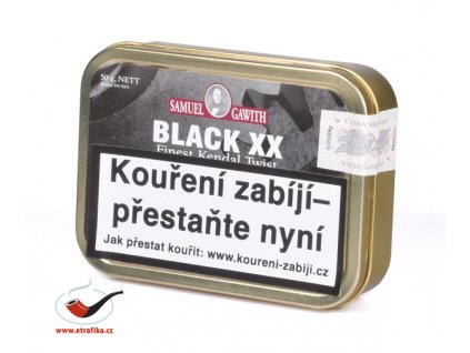 Dýmkový tabák Samuel Gawith Black XX/50