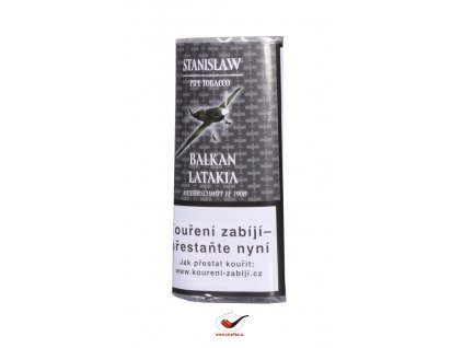 Dýmkový tabák Stanislaw Balkan Latakia/50