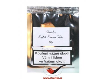 Dýmkový tabák Stanislaw English Summer Flake/10
