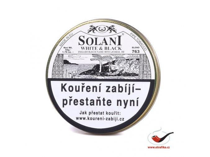 Dýmkový tabák Solani White and Black/50
