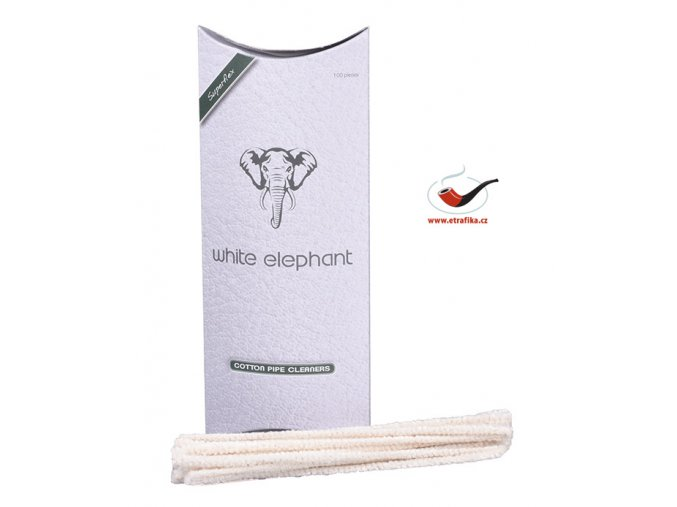 Čističe dýmky White Elephant WE100PC Cotton/100