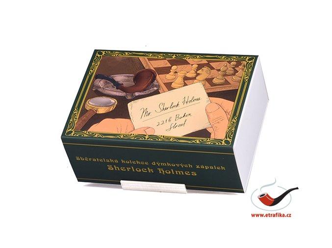 Dýmkové zápalky Solo Sherlock Holmes Limitovaná edice Set 01