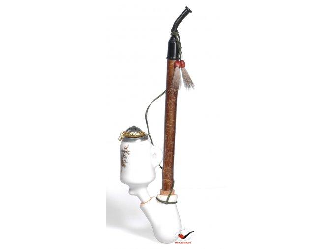 Dýmka porcelánová BPK 89414 - Motiv lesní zvěř
