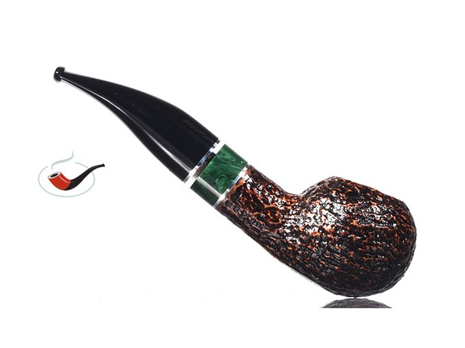 Dýmka Savinelli Impero Rustik Dark Brown 321