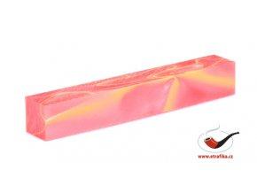 Akrylová tyč malá TW Crimson Yellow Whirl 90