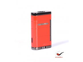 Cigaretový zapalovač Xikar 533RD Allume Double Lighter Riot Red